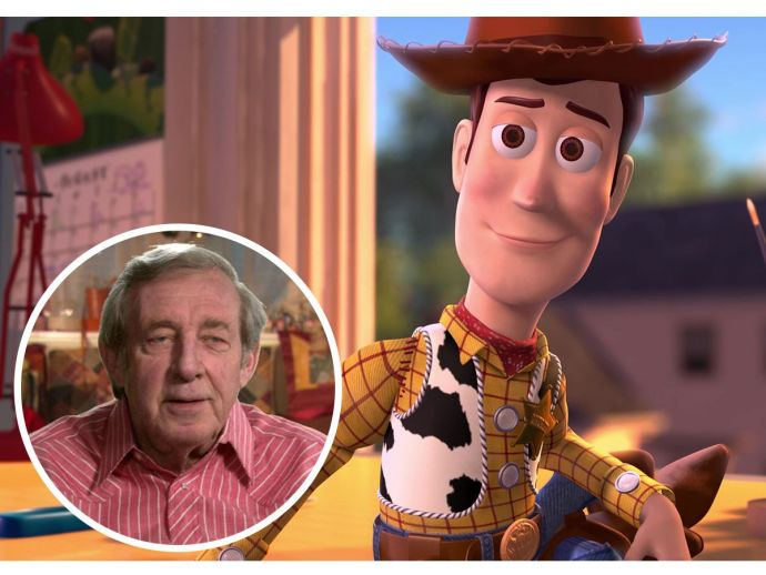 Woody, Toy Story, Bud Luckey, Dead, Popular Animators, Voice artists, Pixar, Boundin, Ratatouille, Cars, Finding Nemo