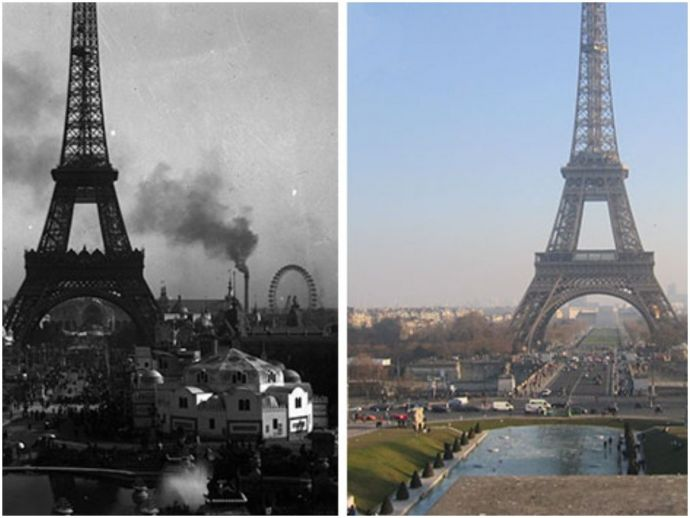 paris, france, photos, art, history, romance, literature, before and after photos