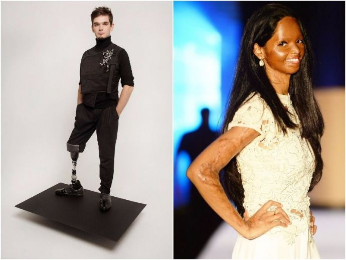 fashion, runway, models, beauty, khoudia diop, laxmi agarwal, jillian mercado, bezgraniz couture, caitin stickels, winnie harlow, Beauty Contest Of Specially Abled Person, Winnie Harlow, Caitin Stickels, Bezgraniz Couture, Khoudia Diop, Jillian Mercado, Laxmi Agarwal