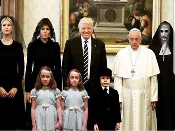 President Donald Trump, Pope Francis, Donald Trump And Pope Francis, twitter, pope, trump, america