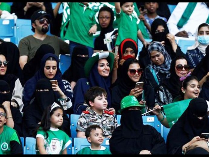 Saudi Arabia, women, stadium, King Fahd International Stadium, Riyadh, diktats