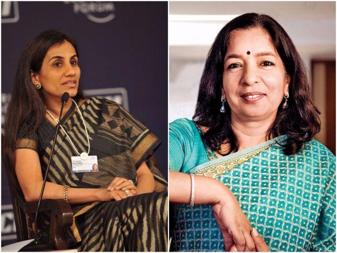 India, Fortune, list, 50, Most Powerful Woman, Chanda Kochhar, SHikha Sharma, ICICI Bank, Axis Bank