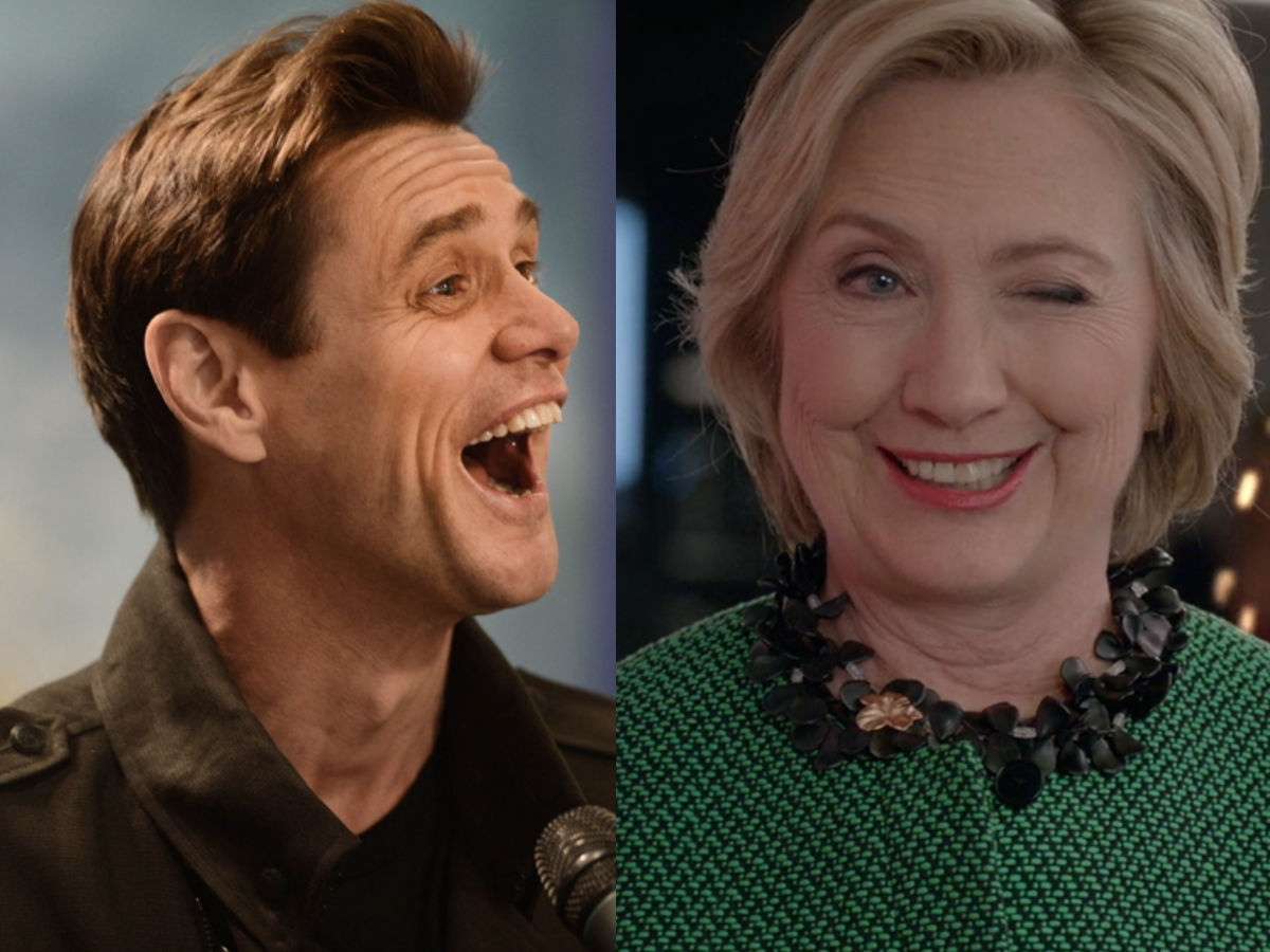 Hillary Clinton, Jim Carrey, Democrat, Birthday, Donald Trump, US Presidential Elections
