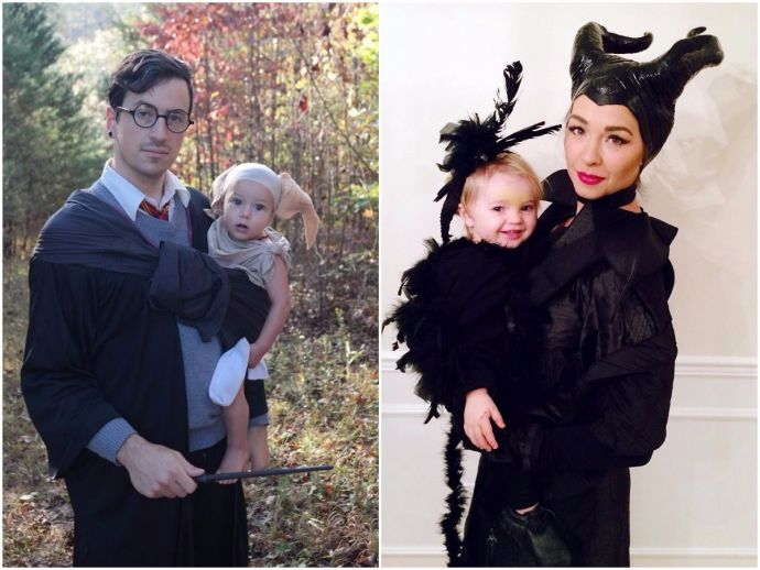 Choose One From These Amazing Parent-Baby Costumes This Halloween!  sc 1 st  Reacho & Choose One From These Amazing Parent-Baby Costumes This Halloween ...