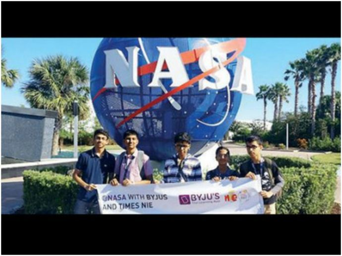 Pune, DAV Public school, Byju's learning app, NASA, Space Centre, Florida, USA, School students, Kennedy Space Centre, Mehul Shelke