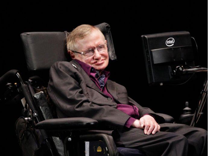 Stephen Hawking, Liam Neeson, Anna Kendrick, Bill Gates, Michael Caine, Felicity Jones, Rebel Wilson, Eddie Redmayne, Lin-Manuel Miranda, Intel