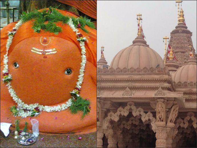 ganesh, tekdi, temple, nagpur, reconstruction, makeover, pilgrimage, swaminarayan, BAPS, akshardham, wathoda, architecture