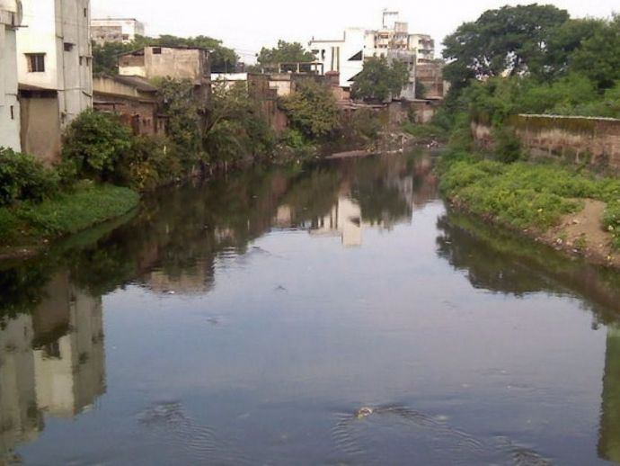 Nag Nadi Nagpur, Nag River, Pili River, Nag Nadi beautification project, Nag River beautification project, Nag River cleanliness project, Nag River Conservation, Nag Nadi, Nag Nullah Nagpur, Nag River Status