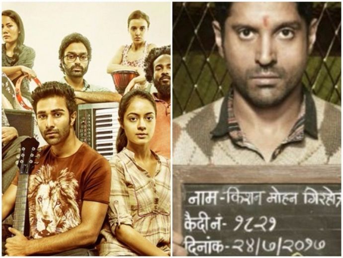 Lucknow central, Qaidi band, Movies, trailers, similarities, same story, farhan akhtar, aadar jain, YRF, Nikhil Advani