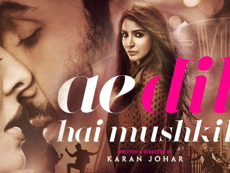 Ae Dil Hai Mushkil, Anushka Sharma, Ranbir Kapoor, Aishwarya Rai Bachchan, Karan Johar, Tickets, Booking, Box Office, reviews, PVR, delhi, select city