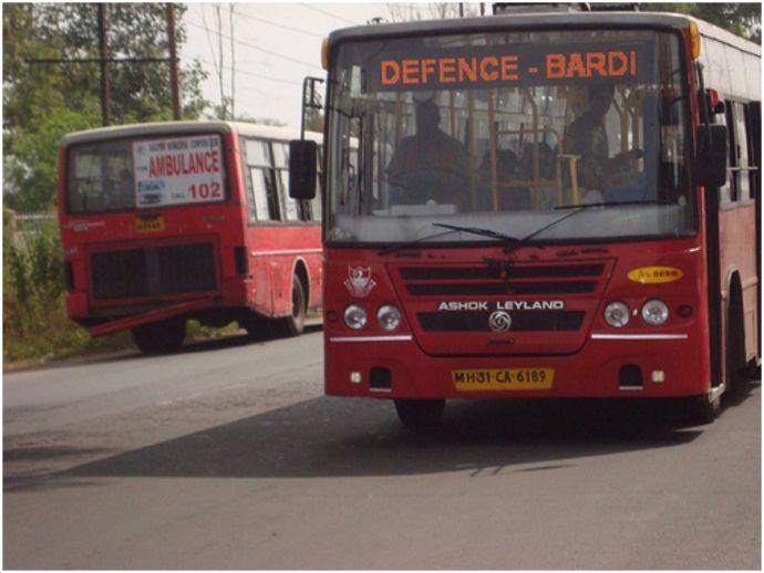 nagpur, nagpur news, buses, city bus, Godhani-Pardi, Godhani-Bahadura Phata, Godhani, Gandhibagh