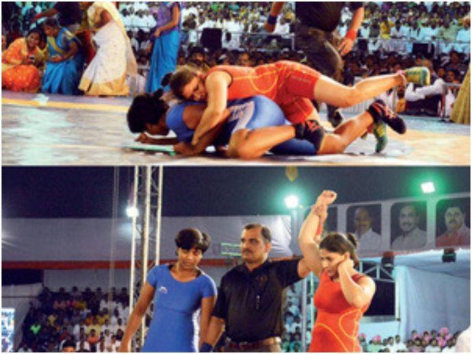 Maharashtra kesari, women wrestlers, pune, wrestling, wrestling championship