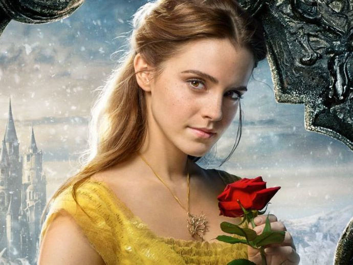 beauty and the beast, disney, live action, emma watson, dan stevens, motion, posters