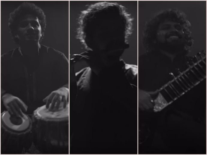 the indian jam project, tushar lall, james bond, tribute, indian, hindustani, classical, cover