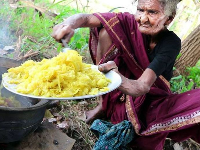 Oldest youtuber, 106 year old granny cook, Andhra old lady cook, Mastanamma, Oldest chef from South India, Country Foods, food, youtube