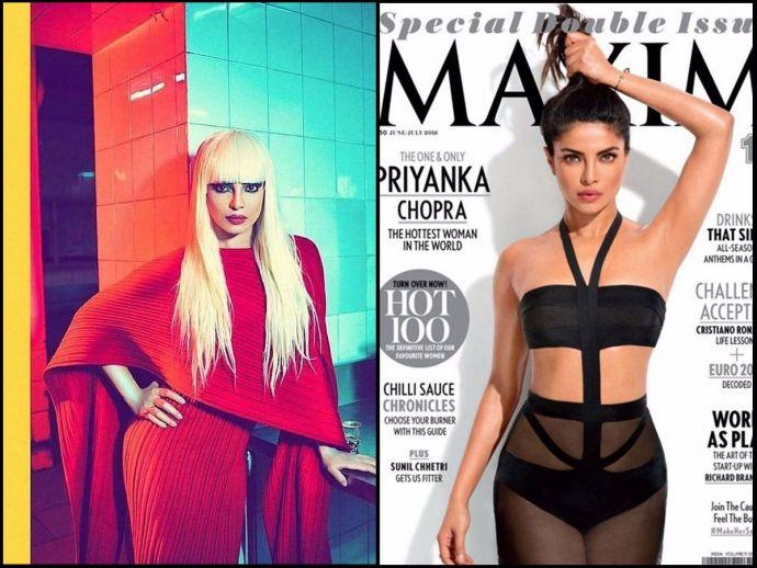 Priyanka Chopra, Pee Cee, Quantico star, Trolls, Twitter, blonde wig, armpit, photoshop, legs, skirt, dress, narendra modi, prime minister, refugee, t shirt