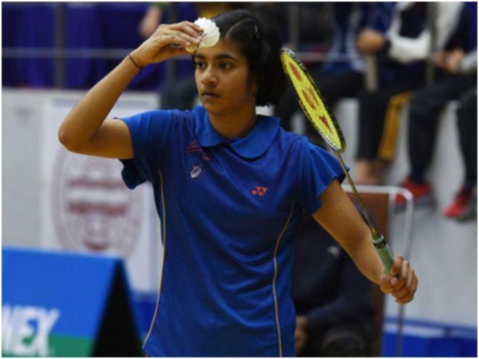 badminton, malvika bansod, badminton association of india, under-17, number 1, All India Junior Ranking Tournament