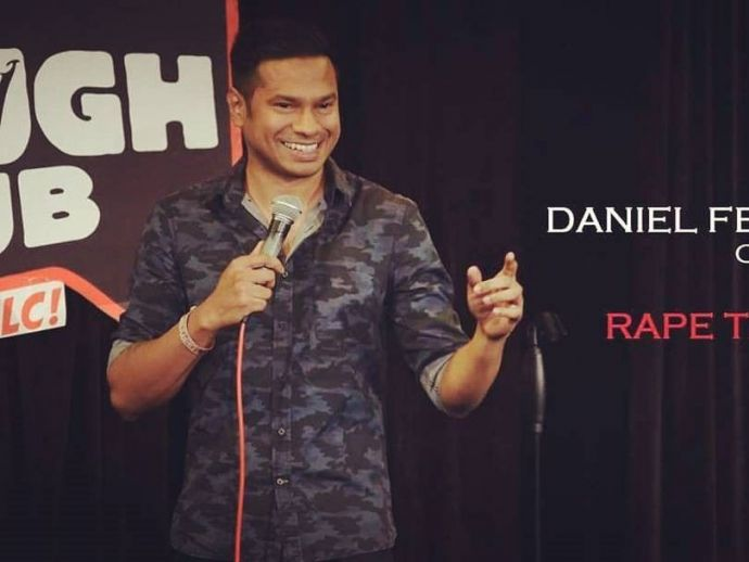 daniel fernandes, stand up, rape threats, comedy, india, canvas laugh club