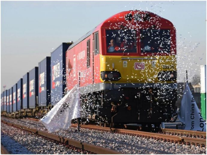 China, freight train, London, UK, Trade, economy, brexit, Theresa May, France, Belgium, Russia, Poland, Germany, Second Longest Train Journey, London-China Train, Second-longest route in the world, Longest Train Route, China Railway Corporation