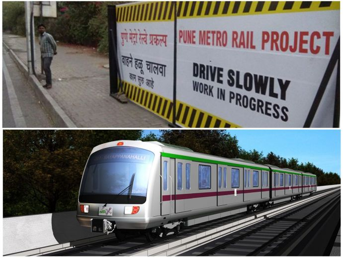 MAHA-METRO, Pune, Pune Metro Project, Nagarjuna Construction Company, NCC, maharashtra, transport, development, nagpur metro