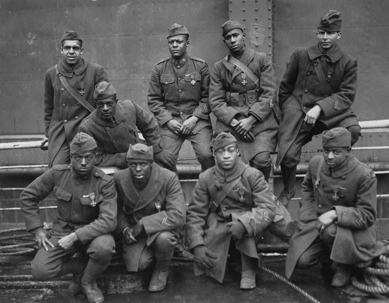 369th Infantry Regiment, 93rd Division, African-Americans, Croix de Guerre, Henry Johnson, Max Brooks, World War I, Harlem Hellfighters