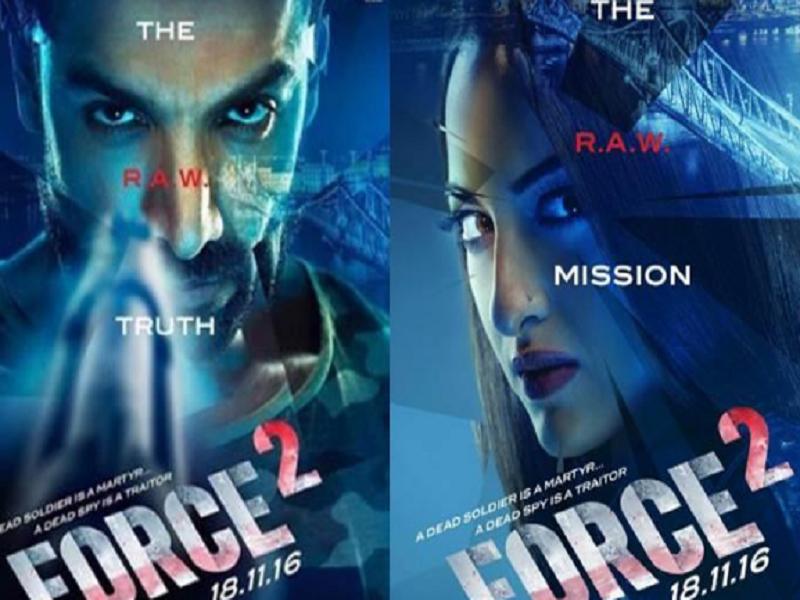 Force 2, john abraham, tahir raj bhasin, sonakshi sinha, trailer