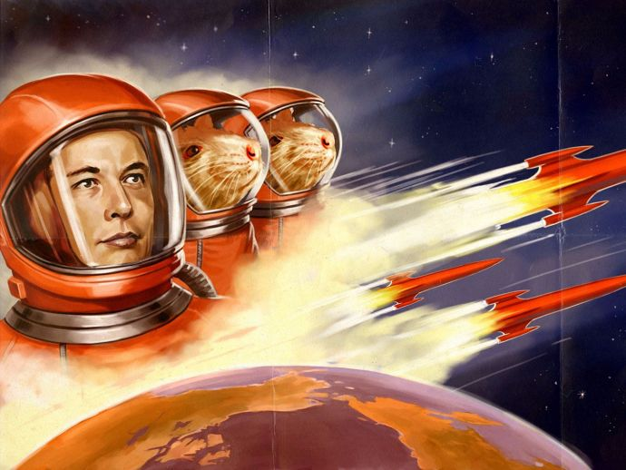 Elon Musk, SpaceX, mission, Mars, 2022, five years