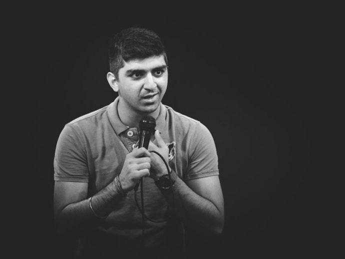 Raunaq Rajani, Untouchability, fuuny, India, comedy, canvas laugh club