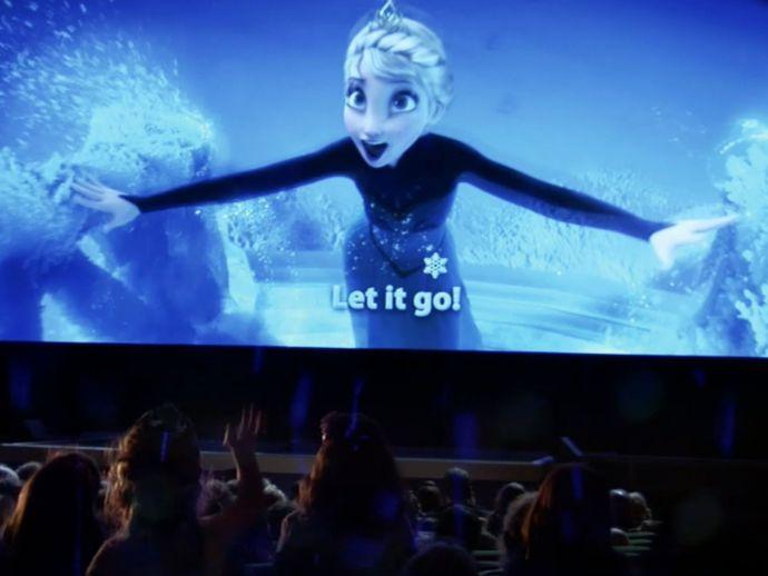samsung, las vegas, cinemacon, movie theatre, projector, 4k, led
