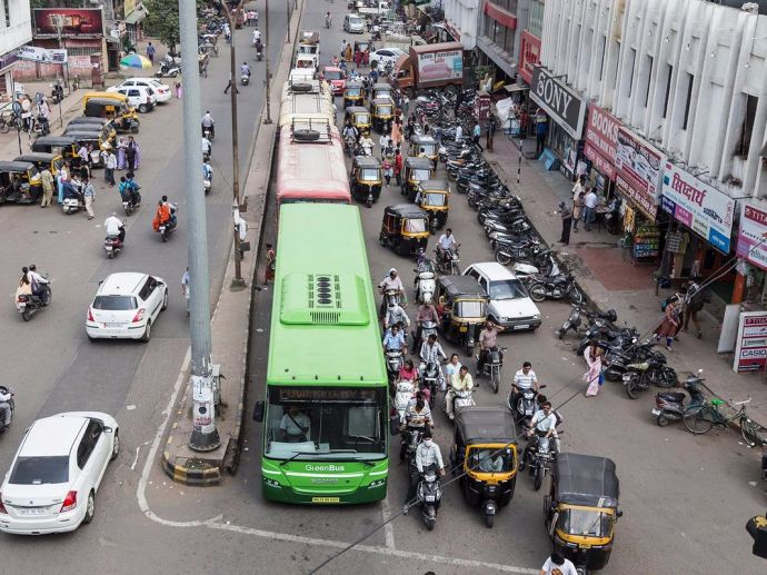Nagpur, City buses, 50 %, Concession, senior citizens, old people, NMC, transport committee, mass, public, transport