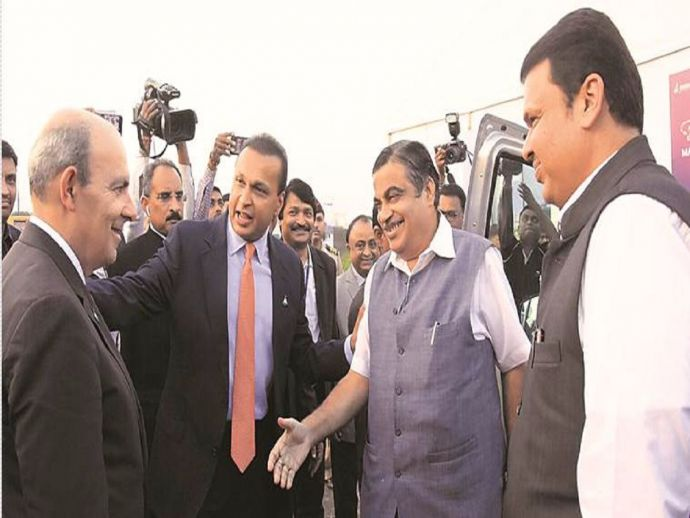 nagpur, nagpur news, Reliance, Dassault Aviation, Dassault Reliance Aviation Limited, DRAL, Nitin Gadkari, Devendra Fadnavis, mihan, Anil Ambani, plant, aircraft