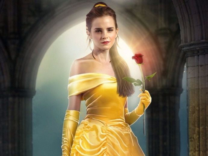 Emma Watson, Corset, Beauty And The Beast, Disney