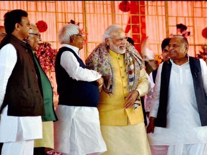 Lalu Prasad Yadav, Nitish Kumar, Narendra Modi, Demonetization, Rabri Devi, Bihar