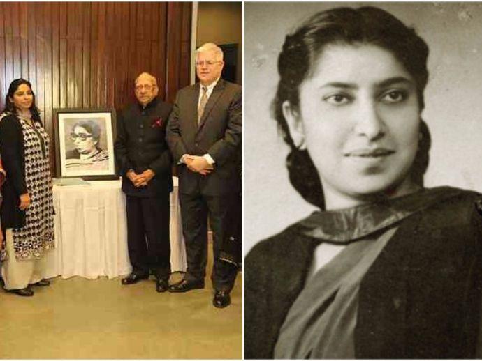 Supreme Court Library, Kapila Hingorani, PIL, First Woman portrait, long over due