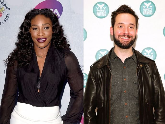 Serena Williams, Alexis Ohanian, Reddit Co-Founder, Engagement