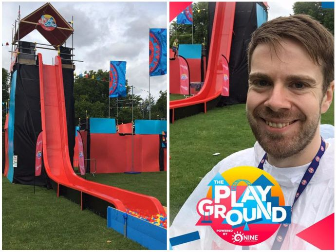 The playground, London fields, 9Nine brand, Greg Whyte