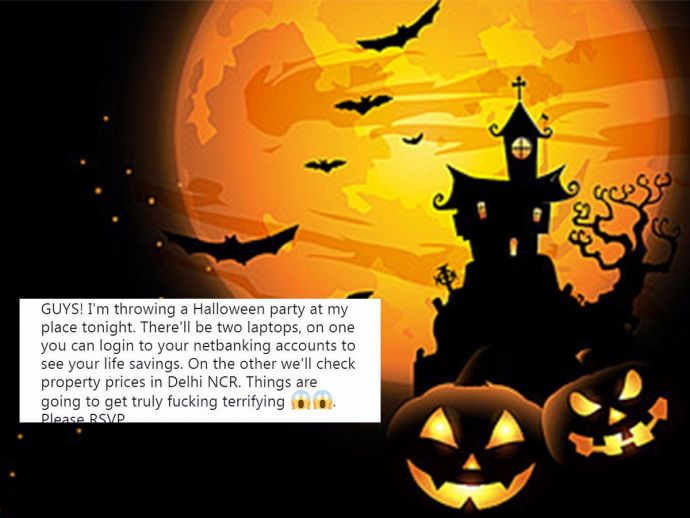 Halloween In India, Halloween, india, celeberation, western celebration, twitter, funny, reactions