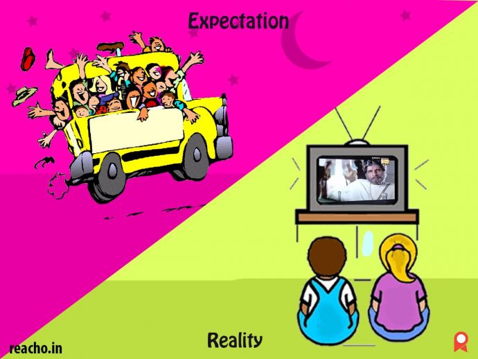 expectation, reality, new year eve, 31st december, illustrations, clipart