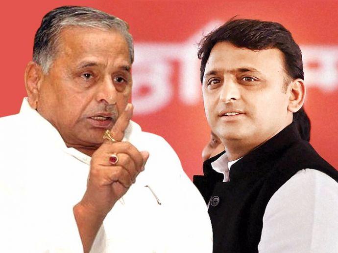 Mulayam Singh Yadav, Akhilesh Yadav, Samajwadi Party