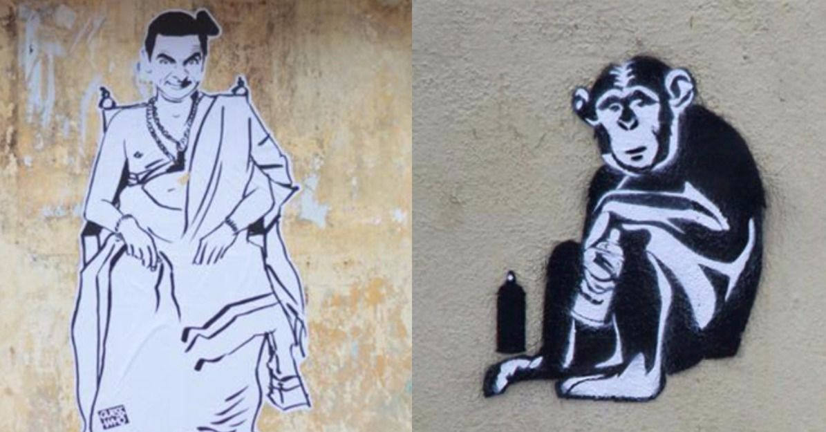 The Mysterious Indian Banksy And His Latest On National Anthem Drama