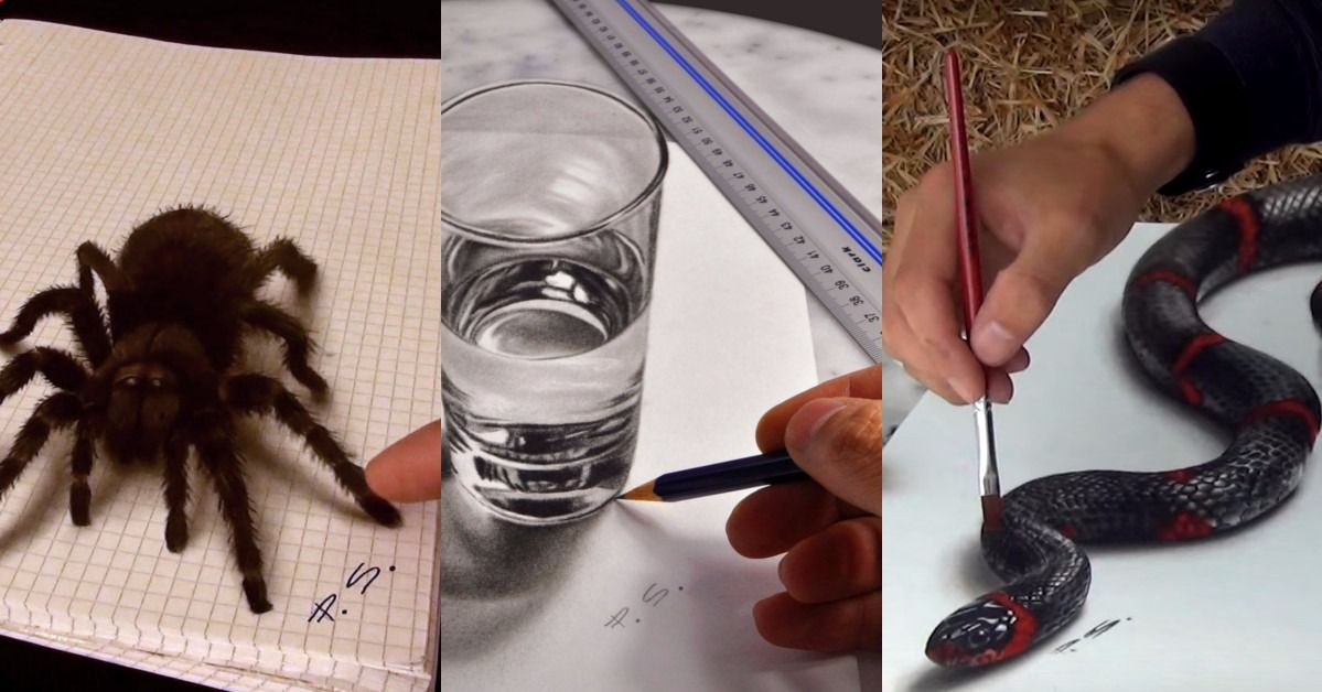 These Awe Inspiring 3D Paintings By Artist Stefan Pabst Will Leave You Gawking