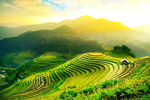 Majestic plateaus and picturesque mountains of Thailand