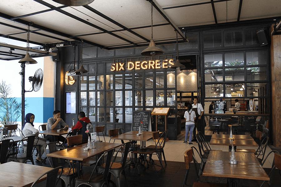 6 Degrees coffee drinkers – Mall Central Park – Rekantara