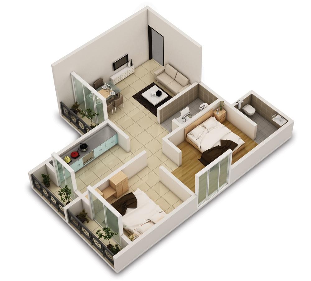 10 Sketsa Rumah Sederhana Untuk Bangun Hunian Minimalis Modern