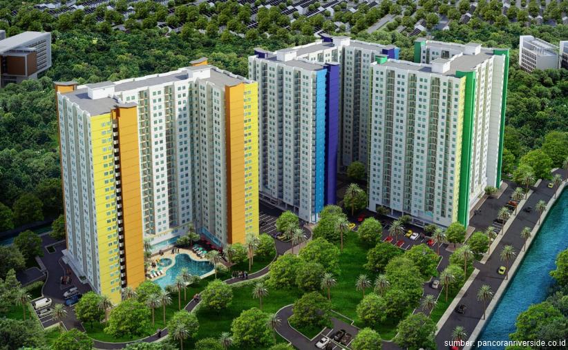 Harga dari 300 Juta-an, Apartemen Pancoran Riverside Pilihan Tepat untuk Investasi