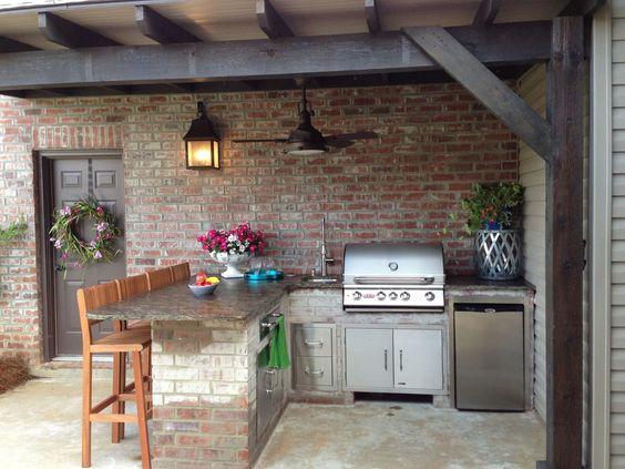 15 Desain Dapur Terbuka Sederhana Untuk Rumah Kecil