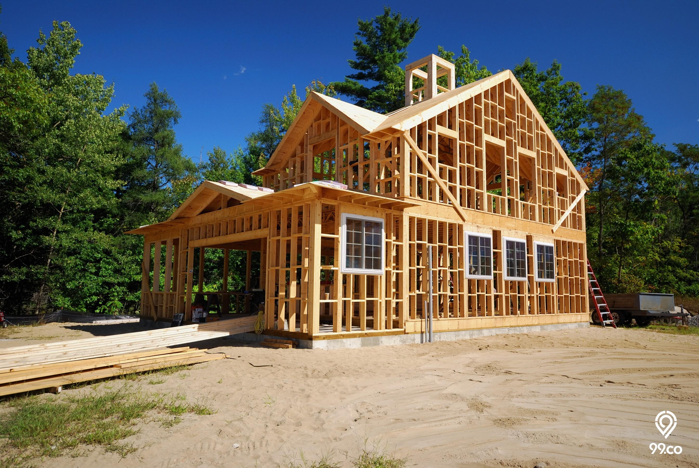 Cara Membuat Rumah Kayu Sederhana Nan Cantik Hemat Biaya