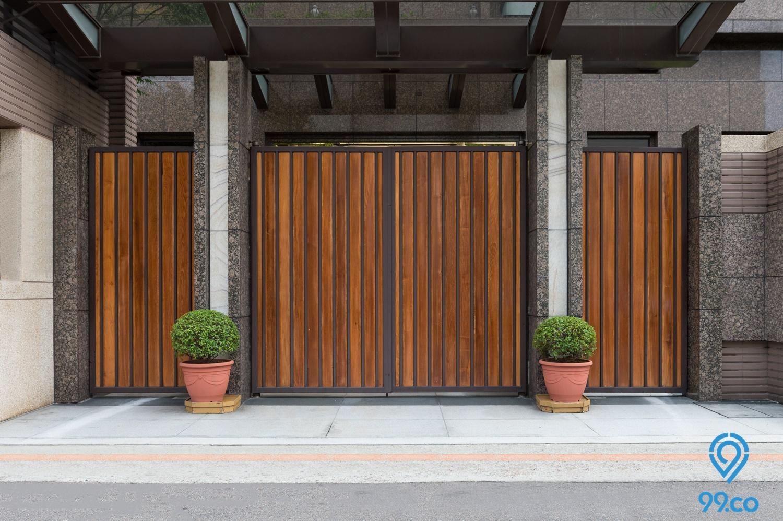 10 Desain Pagar Rumah Minimalis Terbaru Tahun 2020