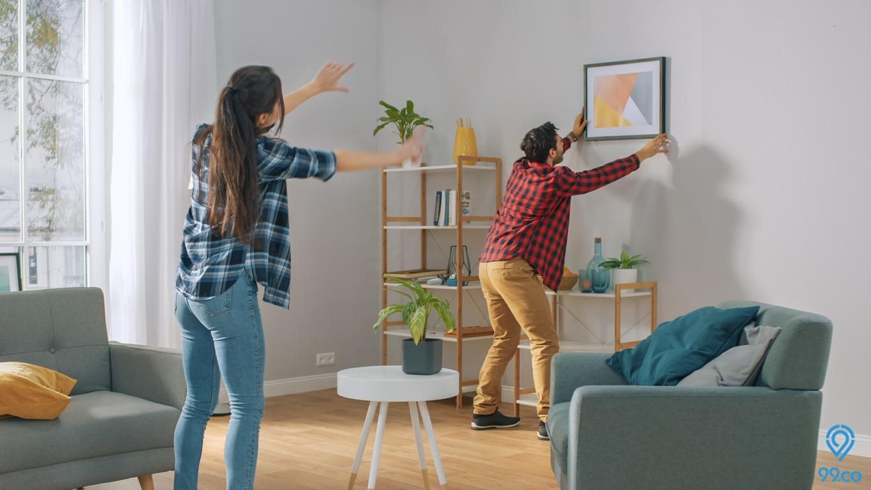 5 Cara Membuat Hiasan Dinding   Dekorasi Rumah yang Murah dan Mudah