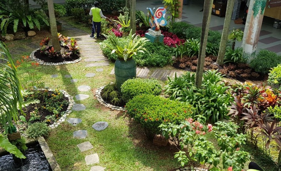 Manfaat Ide Dekorasi Dan Contoh Gambar Taman Sekolah